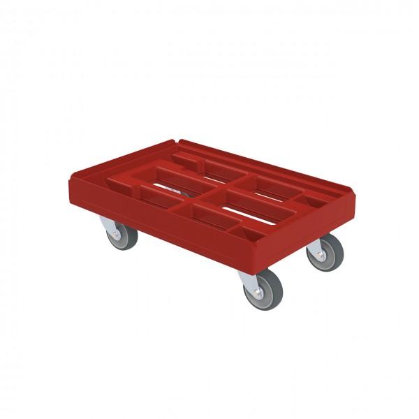 Transportroller rot geschlossen - Favorit 610 x 410 mm