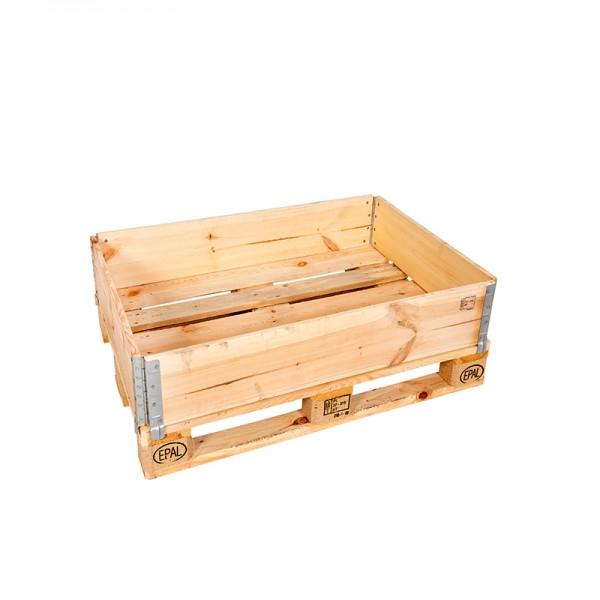 Holzaufsatzrahmen für Europalette - 1 Stück - diagonal faltbar