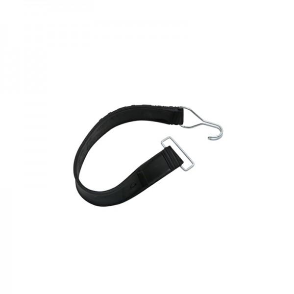 Gummispannband mit Drahthaken und Drahtlasche - 1 Stk. für Rollbehälter