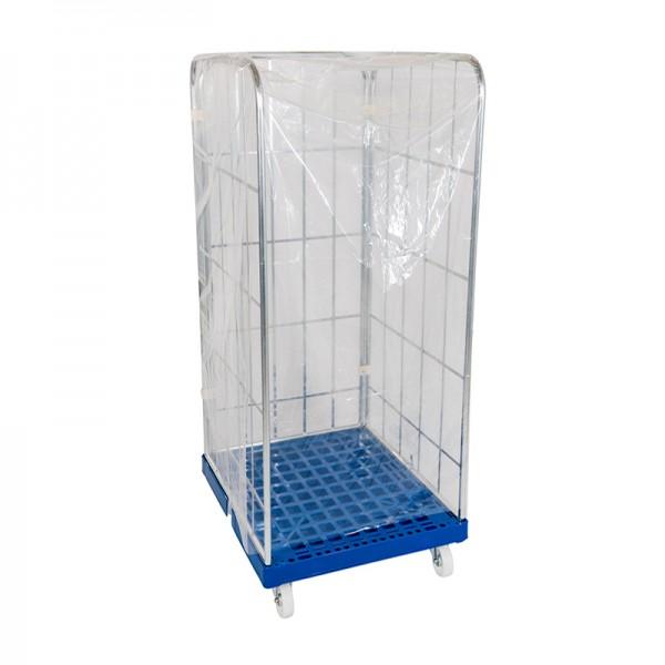 Einweghaube transparent - 1 Stk. für Rollbehälter