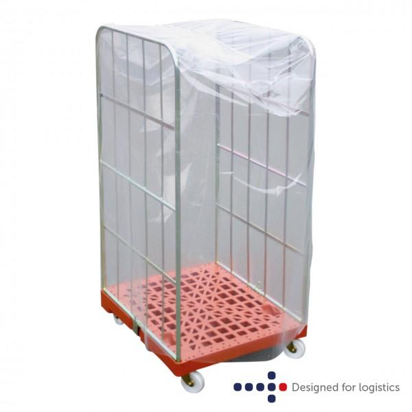 Einweghaube transparent - 10 Stk. für Rollbehälter