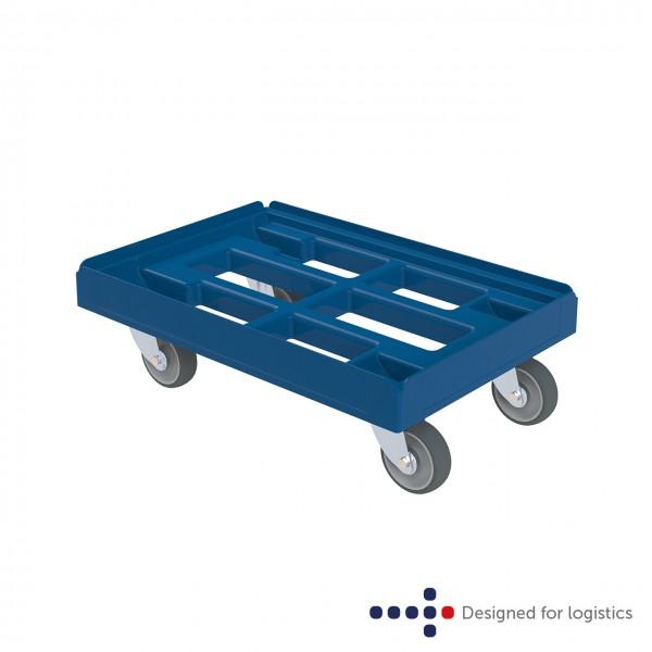 Transportroller blau offen - classic 610 x 410 mm